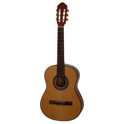 Vänsterhänt klassisk gitarr